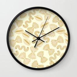 Pasta for dinner Wall Clock