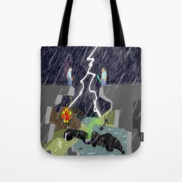 The Final Confrontation Tote Bag