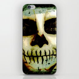 Scary Skull me iPhone Skin