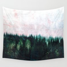 Deep dark forests Wall Tapestry