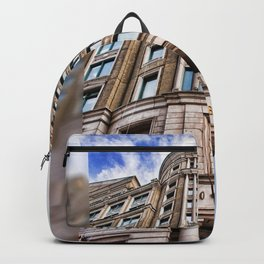 London Photography Canary Wharf Cabot Square Backpack