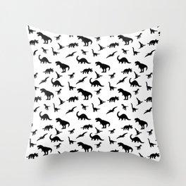 Dino pattern Throw Pillow