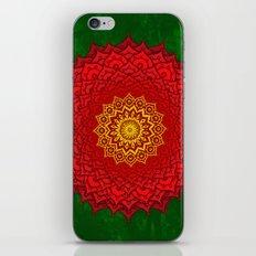 okshirahm rose mandala iPhone & iPod Skin