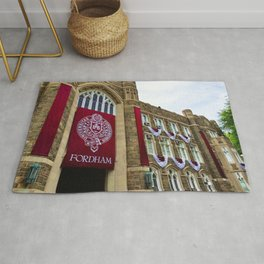 Keating Hall at Fordham University Commencement  Rug
