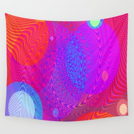Re-Created Twisters No. 6 by Robert S. Lee Wall Tapestry