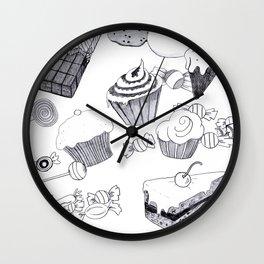 Süßigkeiten Wall Clock