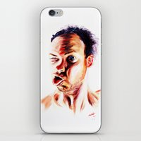 no face iPhone & iPod Skins featuring Face by Martin Kalanda