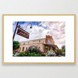 H. D. Gruene Mercantile Building (Gruene, Texas TX) Framed Art Print