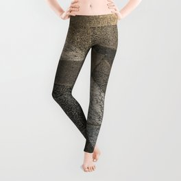 concrete sunshine triangle arrow Leggings