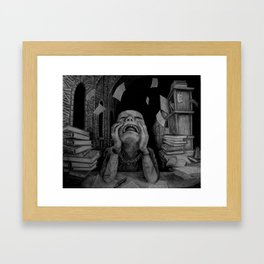 Writing a Thesis Framed Art Print
