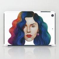 marina and the diamonds iPad Cases featuring Marina by Cannibal Malabar