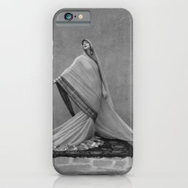 Modern Interpretive Dance, Female Form Fashion black and white photography / photographs iPhone Case