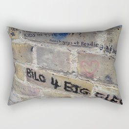 Hare Row - Bilo 4 Biggles Rectangular Pillow