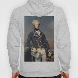 Portrait of Lafayette by Joseph désiré Court Hoody