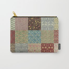 William Morris Collage Carry-All Pouch