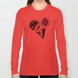 Geometric Rainbow Long Sleeve T-shirt