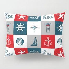 Nautical design 4 Pillow Sham
