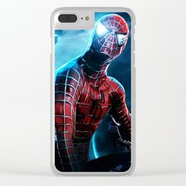 spider man Clear iPhone Case