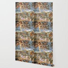 "Michelangelo ""The Conversion of Saul"" Wallpaper"