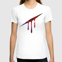 blood T-shirts featuring Blood by Darkerin Drachen