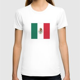 Flag of mexico- mexico,mexico city,mexicano,mexicana,latine,peso,spain,Guadalajara,Monterrey T-shirt