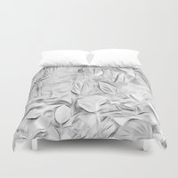 meditation Duvet Covers featuring Meditation by Dorothy Pinder