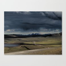 enter the highlands Canvas Print