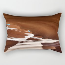 Antelope  Canyon #6 Rectangular Pillow