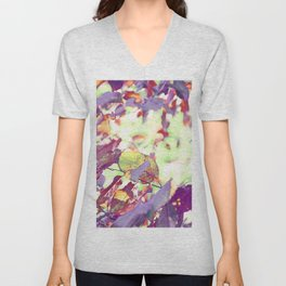 Autumn Leaves Unisex V-Neck