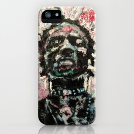 Lion Hunter iPhone Case