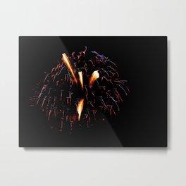 Fireworks 10 Metal Print