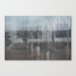 Paris reflex Canvas Print