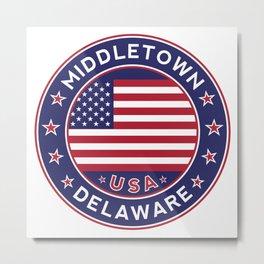 Middletown, Delaware Metal Print