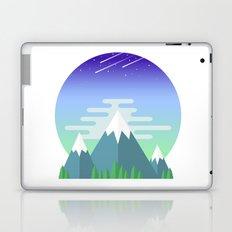 Space Mountains Laptop & iPad Skin