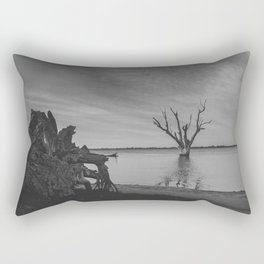 The Dead Tree Lake Rectangular Pillow