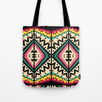 tribal Tote Bags featuring Tribal by Ornaart