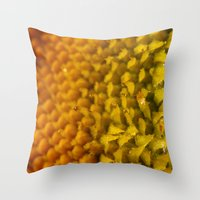 ornate Throw Pillows featuring Ornate by Olivia