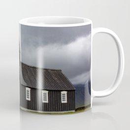 Budir black church Snæfellsnes Peninsula Iceland Coffee Mug