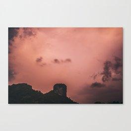 Lightning, Railay East Canvas Print