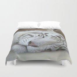 My White Tiger Duvet Cover