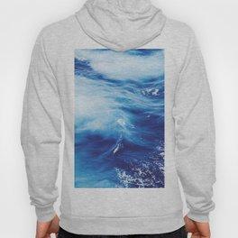 Electric Blue Waves Hoody