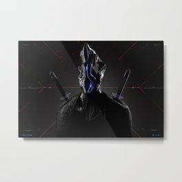 Cyborg Metal Print