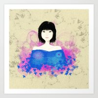 asian Art Prints featuring ASIAN by RArkhitek