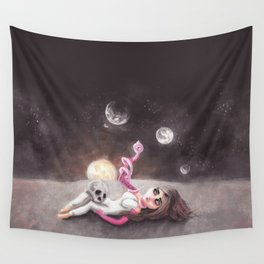 Lost far away from home Wall Tapestry