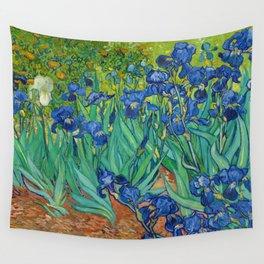 Irises by Vincent van Gogh (May 1889) Wall Tapestry