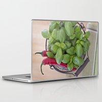 spice Laptop & iPad Skins featuring Spice by Skye Cascadea