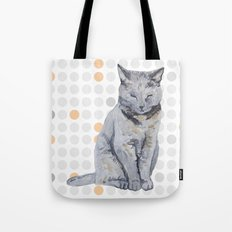 sleepy cat Tote Bag