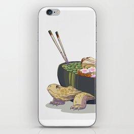 Ramen tortoise iPhone Skin
