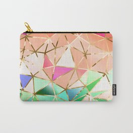 Rainbow Geometric pattern #2 Carry-All Pouch