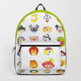 80's Cartoons Backpack